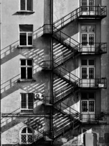 Fire stairs
