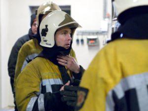 Stefan in brandweerpak